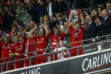 In Pics: Liverpool win Carling Cup